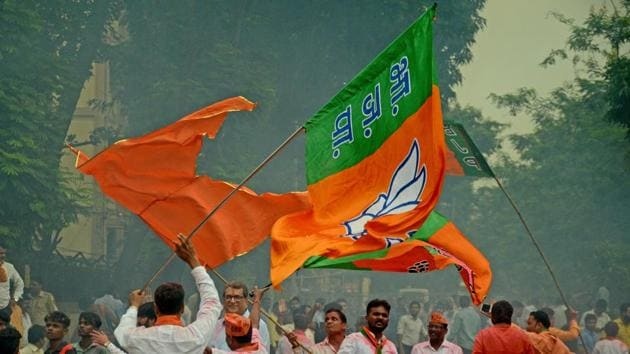 The results of the new Maharashtra assembly were declared on October 24.(Hindustan Times)