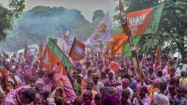 The recent elections were for 90 seats in the Haryana state assembly and 288 in the Maharashtra state assembly.(PTI)