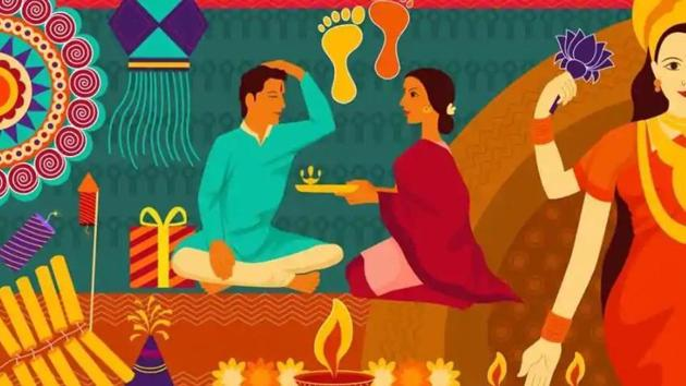 Bhai Dooj is celebrated two days after Diwali and is a part of the five-day-long festival of lights. This year Bhai Dooj will be celebrated on Tuesday, which is October 29, 2019.(Shutterstock)