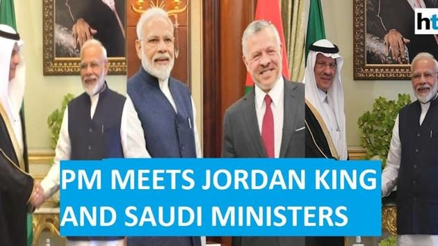 Prime Minister Narendra Modi had a string of high-profile meetings in Riyadh on Tuesday. He met the Saudi Arabian ministers for agriculture, environment and water, and energy during his trip. He also met the King of Jordan, Abdullah II. PM Modi is on a two-day visit to the Middle East nation. He arrived in Riyadh on October 29 and was accorded a ceremonial welcome. A meeting with Saudi prince Mohammed bin Salman is also on the cards.
