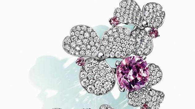 French luxury giant LVMH said Monday it was exploring a takeover of US jewellers Tiffany, most famous for its fine diamonds and luxury silver wedding and engagement rings.(Tiffany and Co/Instagram)