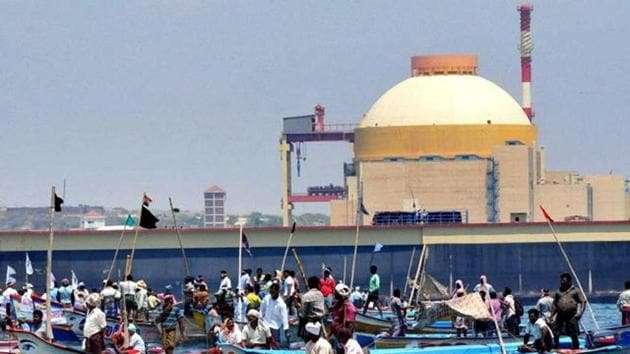 Kudankulam Nuclear Power Plant boasts of being India's largest nuclear power station.(PTI photo)