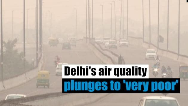 Air quality in Delhi took a hit after the Diwali night due to firecracker emissions and stubble burning. Pollution levels have been oscillating between lower end and higher end of 'very poor' category. Higher value of AQI indicates greater level of air pollution and health concern. Delhiites have complained of a spike in respiratory problems and allergies. Stubble burning in Punjab and Haryana makes the situation worse in Delhi. Chief Minister Arvind Kejriwal led-AAP government has announced implementation of Odd-Even scheme from November 4 to November 15.