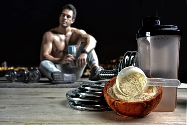 Most gym goers depend on protein supplements to improve their physique(Shutterstock)
