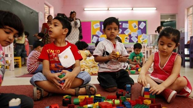 Some children learn to reason quickly, for others, it takes repeated actions to form a pattern and logical connection. (Representational image)(HT file)