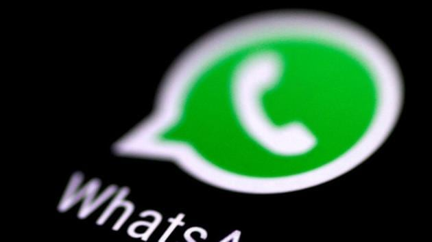 The WhatsApp messaging application is seen on a phone screen.(Photo: Reuters)