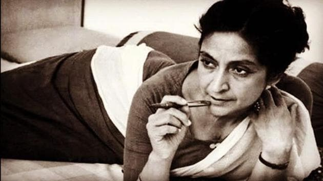 Amrita Pritam had prophesied her heir to be a writer of next generation.(Instagram)
