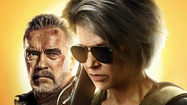 Terminator Dark Fate movie review: Arnold Schwarzenegger and Linda Hamilton reunite for the first time since Terminator 2.