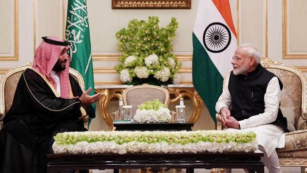 The first bilateral naval exercise in 2020 and collaboration in research and acquisition of military hardware will help broaden defence cooperation between India and Saudi Arabia, people familiar with developments said on Thursday.(ANI Photo)