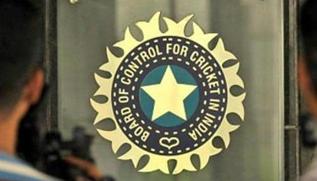 A general view of BCCI logo(Hindustan Times.)