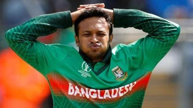 Bangladesh's Shakib Al Hasan in action.(Action Images via Reuters)