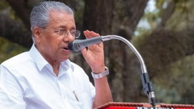 Kerala Chief Minister Pinarayi Vijayan has defended the police for the arrest of two Marxist supporters under the stringent Unlawful Activities Prevention Act (UAPA) and an encounter in which four alleged Maoists were killed. (Photo @vijayanpinarayi)
