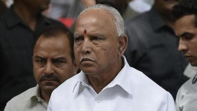 Yediyurappa accused the Congress on Sunday of distorting his statement(HT File)
