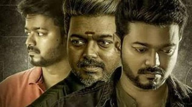 Vijay plays the lead role in Atlee's Bigil.