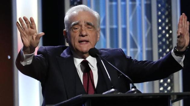 Martin Scorsese speaks on stage at the 2019 Hollywood Film Awards. REUTERS/Mario Anzuoni(REUTERS)