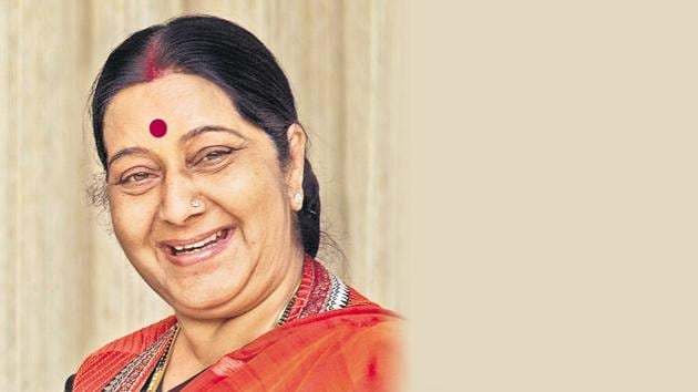 Sushma Swaraj, 67, who died of a heart attack on August 6, underwent the transplant in December 2016.(AP Photo)