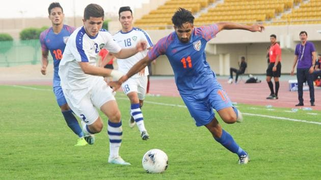India began their 2020 AFC U-19 Championship qualification campaign with a 0-2 defeat.(AIFF)