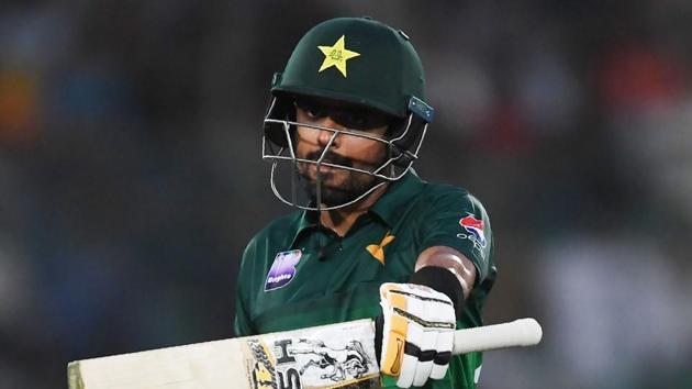 File image of Pakistan T20I captain Babar Azam.(AFP)