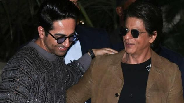Ayushmann Khurrana is rumoured to have written a script for him and Shah Rukh Khan.
