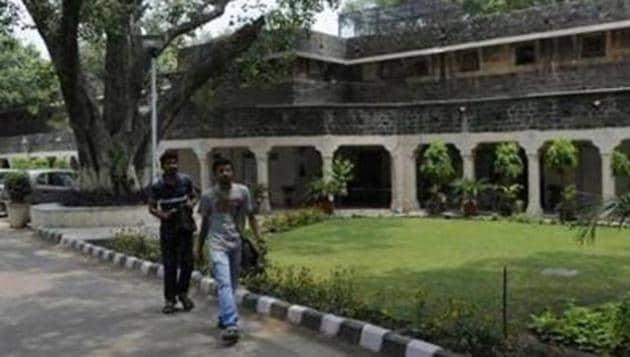 The Ambedkar University campus(Hindustan Times)