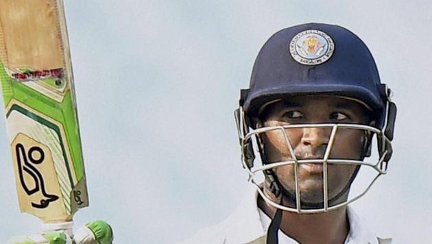 File image: Karnataka cricketer CM Gautam(PTI)