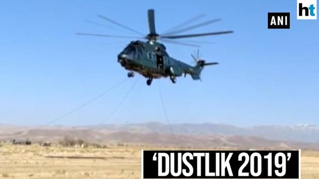 Forces from India and Uzbekistan performed heliborne operation during 'Dustlik 2019', a joint exercise between forces of the two nations. The Dustlik 2019' is a 10 day exercise meant to increase defence cooperation between India and Uzbekistan. The focus of the drills is on tackling terrorism. The exercise is aimed at enabling the sharing of best practices and experiences between the Armed Forces of the two countries.