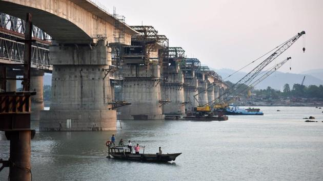 What is happening to the Mekong today could happen tomorrow to the Brahmaputra and other Tibet-originating rivers that are the target of China's dam builders(AFP)