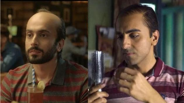 Bollywood released two films on balding men in last weeks -Bala and Ujda Chaman.