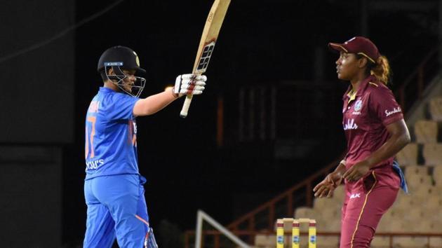 Shafali Verma scored a half century.(BCCI Women/Twitter)