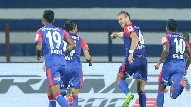 The win lifted Bengaluru to the fifth position(BFC Twitter)