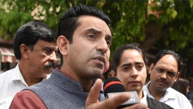 Tehseen Poonawalla claims he is out of the show, not because he received less votes but because his lawyers asked for it as they the current political situation, given the recent Ayodhya verdict, demands him in the political scene.(Instagram)