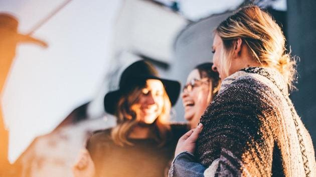 Healthy social relationships and connections have found to be beneficial and a booster for adults.(Unsplash)