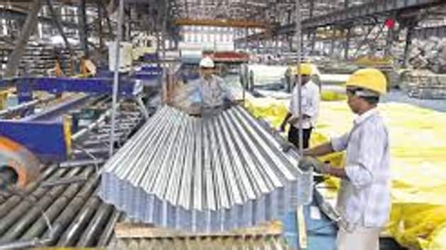 A slowdown was witnessed in the manufacturing sector, which declined by 3.9 per cent in September as compared to 4.8 per cent growth a year ago. (Bloomberg)