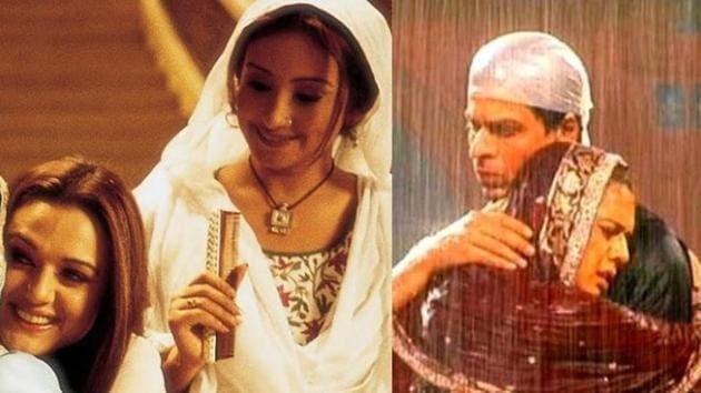 Divya Dutta played Preity Zinta's friend Shabbo in Veer Zaara.