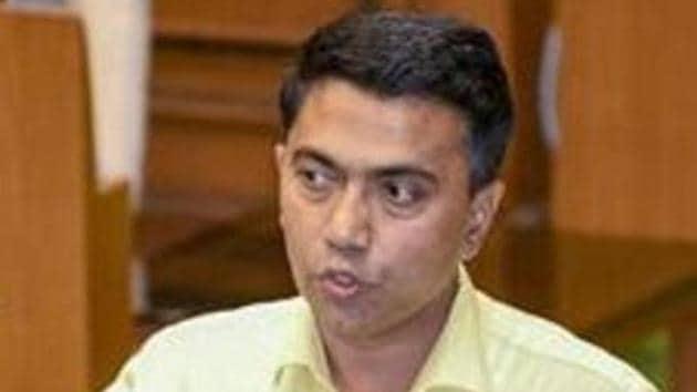 Goa Chief Minister Pramod Sawant(PTI File)