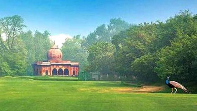 A view of the prestigious Delhi Golf Club, which was eastablised in 1930.(Delhi Golf Club)