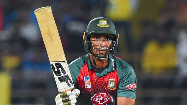 File image of Bangladesh T20I skipper Mahmudullah.(PTI)