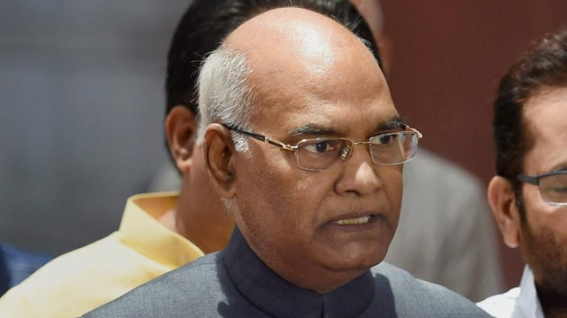 President Ram Nath Kovind has given his assent to the Union Cabinet's recommendation to impose President's rule in Maharashtra(PTI Photo)