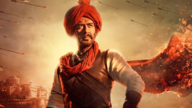 Latest Tanhaji: The Unsung Warrior poster was shared by Akshay Kumar.