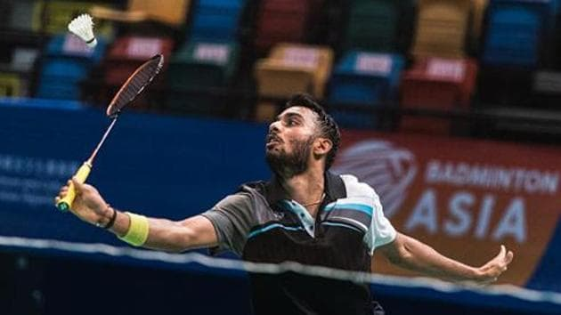 File image of Indian shuttler Sourabh Verma.(Getty Images)