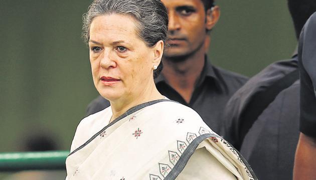 Sonia Gandhi(Photo: Ajay Aggarwal/Hindustan Times photo)
