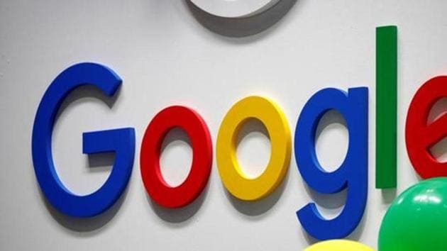 The logo of Google.(Reuters Photo)