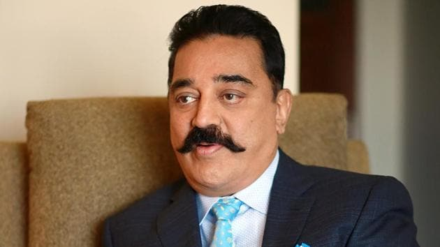 "Tamil Nadu Chief Minister K Palaniswami on Tuesday ticked off actor-politician Kamal Haasan for ""showing off"" as a leader.(Amal KS/ Hindustan Times)"