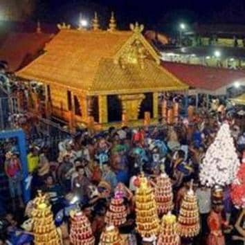 The Sabarimala judgment had led to clashes between the faithful and the Kerala state administration when the latter tried to enforce the rule of law. At the time the verdict was first pronounced in 2018, many felt that this was selective as it spoke only about undoing discriminatory practices against women in Hinduism(PTI)