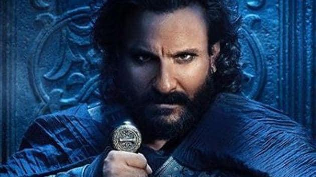 Tanhaji poster: Is Saif Ali Khan channelling Ranveer Singh from Padmaavat?