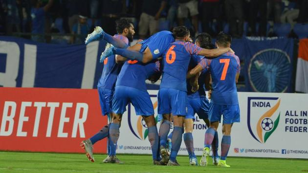 India drew 1-1 against Afghanistan.(AIFF)