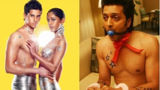 Sidharth Malhotra and Riteish Deshmukh take a dig at each other by sharing their previous projects.