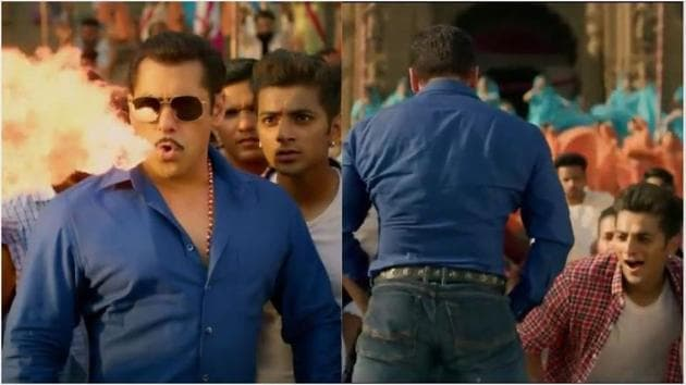 Dabangg 3 song Hud Hud: Salman Khan has pulled off some of his weirdest moves yet.