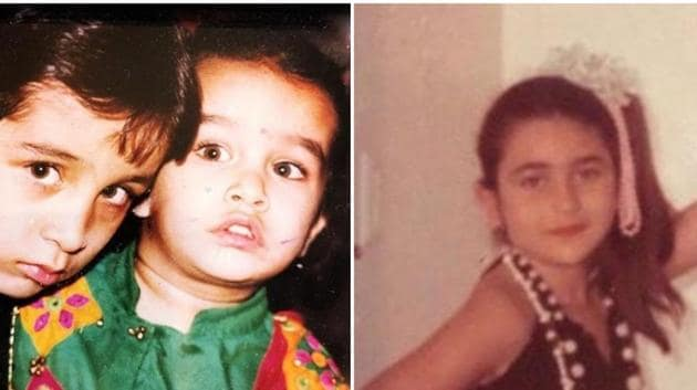 From Ananya Panday to Shraddha Kapoor, Bollywood stars share throwback pics on