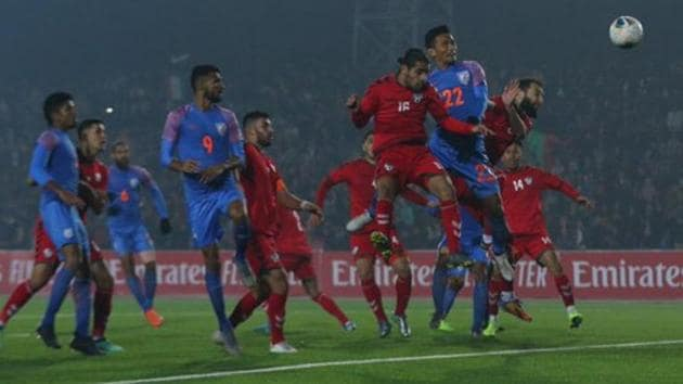 India vs Afghanistan, FIFA World Cup 2022 qualifiers: Follow highlights from the FIFA World Cup 2022 qualifier encounter between India and Afghanistan.(Twitter)